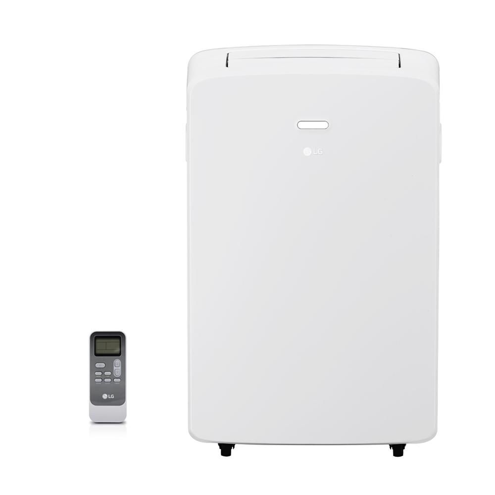 LG Electronics 10,200 BTU 115-Volt Portable Air Conditioner with Dehumidifier and Remote