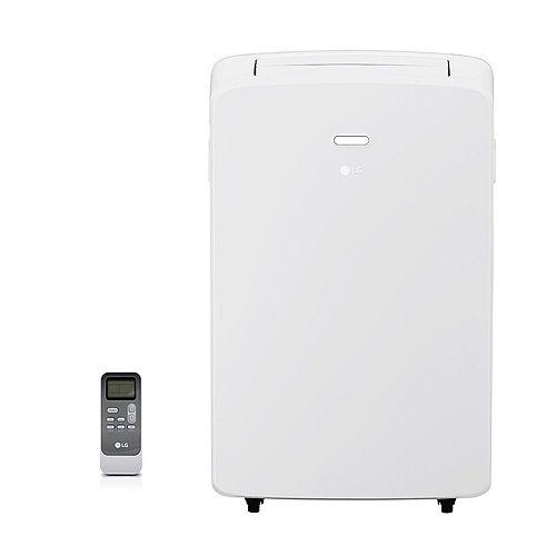 LG Electronics 10,200 BTU 115V Climatiseur portable avec déshumidificateur et télécommande