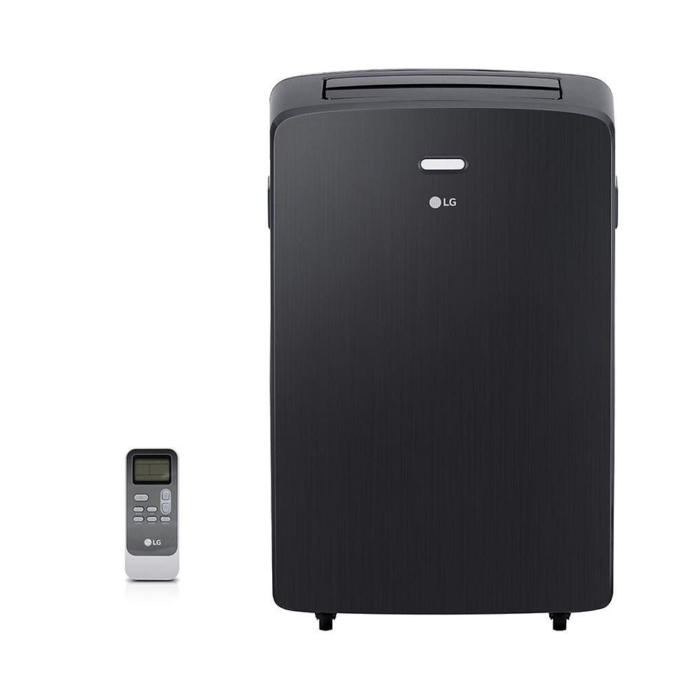 LG Electronics 12,000 BTU 115-Volt Portable Air Conditioner with Dehumidifier and Remote