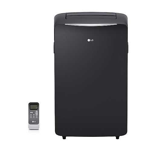 LG Electronics 14,000 BTU 115-Volt Portable Air Conditioner with Dehumidifier and Remote