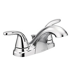 Adler 4-inch Centreset 2-Handle Bathroom Faucet in Chrome
