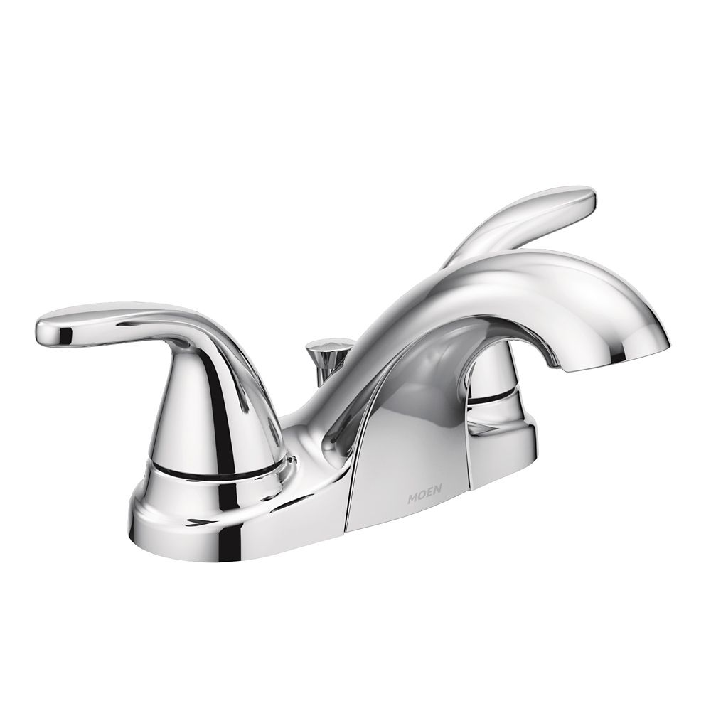 Moen Adler 4-inch Centreset 2-Handle Bathroom Faucet in Chrome