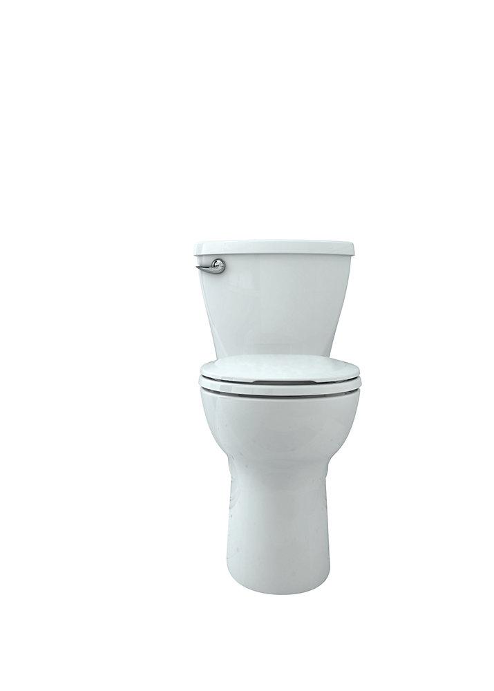 Toilette complète au devant arrondi et à hauteur idéale avec raccordement de 10po 4,8l Cadet<sup>®</sup>