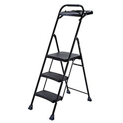 Gorilla Ladders 3-Step PRO Steel Project Step Stool