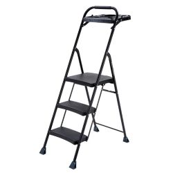 Gorilla Ladders acier PRO à 3 marches Gorilla Ladders