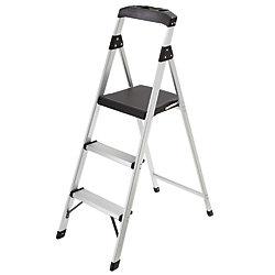 Gorilla Ladders 3-Step Lightweight Aluminum Step Stool