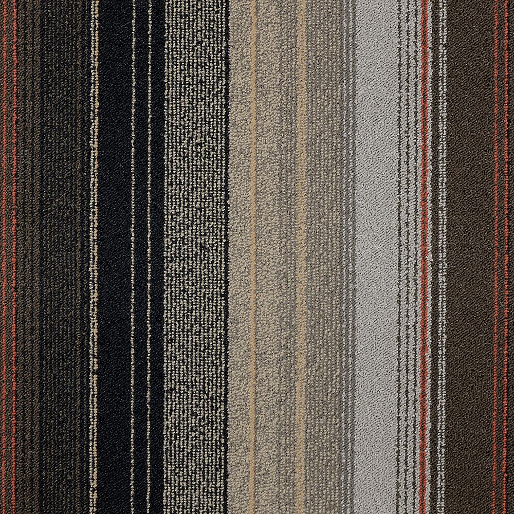 Modular Carpet Tile-Riviera Color Earth - (21.53 Sq.Feet/Case)