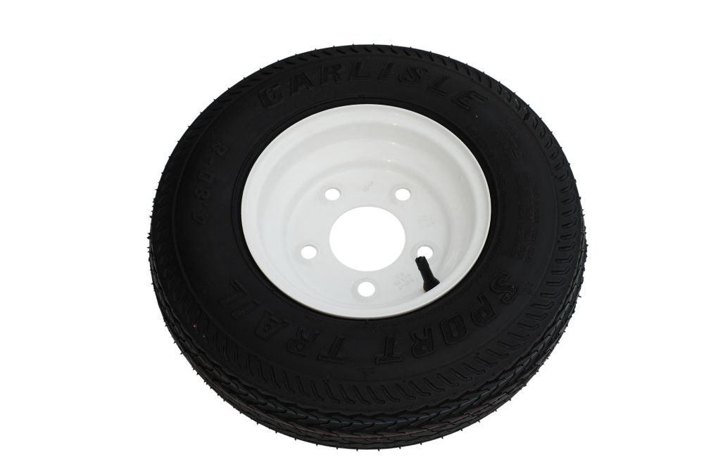 Spare Tire & Wheel 4.80 X 8 Load Range C