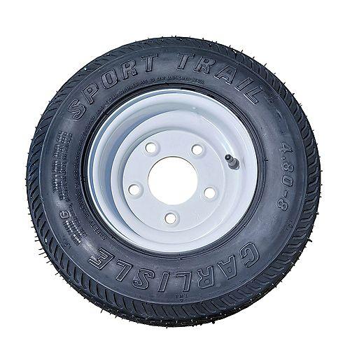 Marathon Spare Tire & Wheel 4.80 X 8 Load Range C