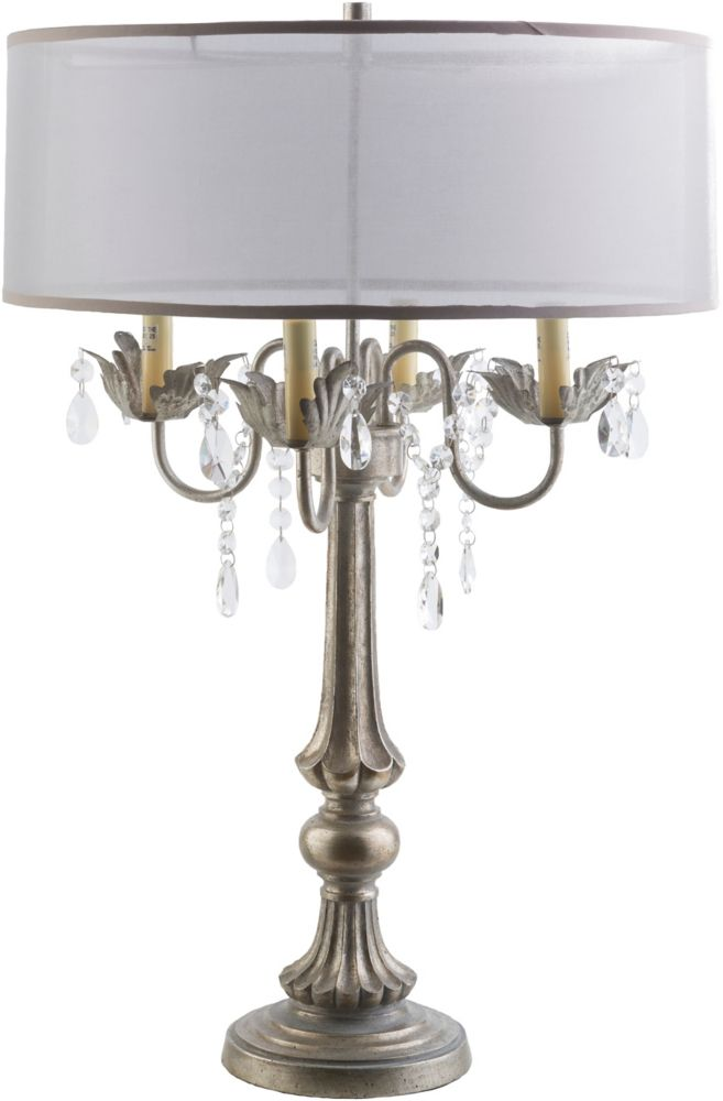 Walton 28 x 19 x 19 Lampe de Table