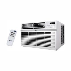 LG Electronics 10,000 BTU 115-Volt Smart Wi-Fi Window Air Conditioner with Remote