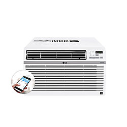 LG Electronics 12,000 BTU 115-Volt Smart Wi-Fi Window Air Conditioner with Remote