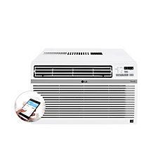 12,000 BTU 115-Volt Smart Wi-Fi Window Air Conditioner with Remote