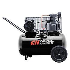 Campbell Hausfeld Compresseur d'air de portable 75,70 litres 10.2CFM 3.7HP 208-230V 1PH (VT6182)