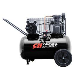 Campbell Hausfeld Air Compressor, 20 Gallon  Portable  10.2CFM 3.7HP 208-230V 1PH (VT6182)