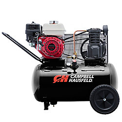 Campbell Hausfeld Air Compressor, 20 Gallon  Portable  10.2CFM GX160 Honda (VT6171X)