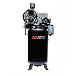 Campbell Hausfeld Air Compressor, 80 Gallon   25CFM 7.5HP 208-230V 1PH (CE7000)