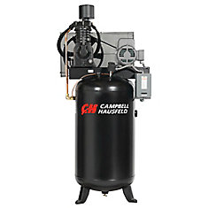 Air Compressor, 80 Gallon   25CFM 7.5HP 208-230/460V 3PH (CE7001)