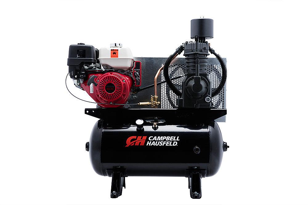 Campbell Hausfeld Compresseur d'air de 113,55 litres 26.1CFM GX390 Honda (CE7003)