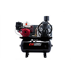 Air Compressor, 30 Gallon 26.1CFM GX390 Honda (CE7003)