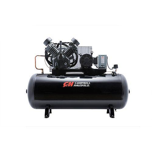 Campbell Hausfeld Air Compressor, 120 Gallon   36CFM 10HP 208-230/460V 3PH (CE8001)