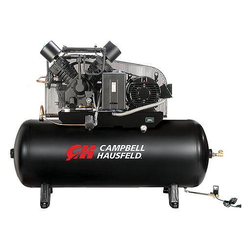 Campbell Hausfeld Air Compressor, 120 Gallon   52.4CFM 15HP 208-230/460V 3PH (CE8003)