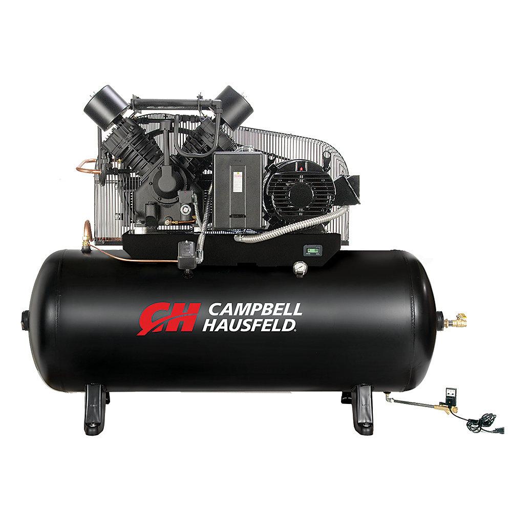 Campbell Hausfeld Compresseur d'air de 454,20 litres emballé 52.4CFM 15HP 208-230/460V 3PH(CE8003FP)