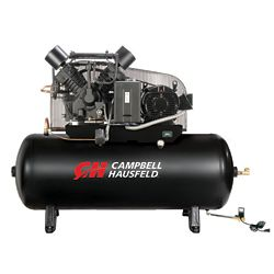 Campbell Hausfeld Air Compressor 120 Gallon Fully Packaged  52CFM 15HP 208-230/460V 3PH (CE8003FP)