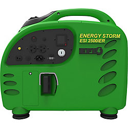 LIFAN Energy Storm 2500W 125cc Gasoline Powered Electric/Remote Start Digital Inverter Generator