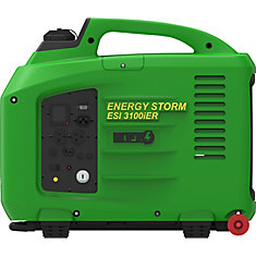 Energy Storm Fuel Injected 3200W 150cc Gas Powered Electric Remote Start Digital Inverter Generator