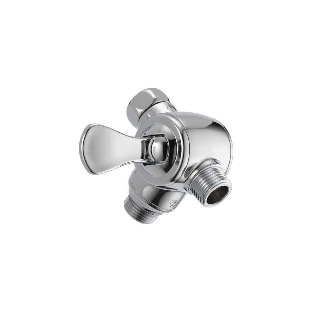 3-Way Shower Arm Diverter For Hand Shower, Chrome