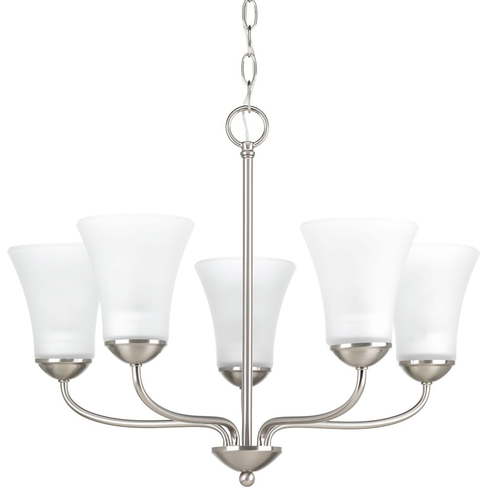 Progress Lighting Classic Collection 5-light Brushed Nickel Chandelier