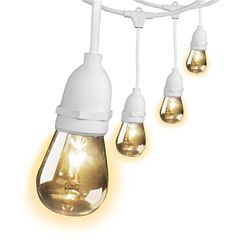 Feit Electric Feit 30 Feet Weather Proof String Light White