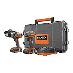 GEN5X 18-Volt Lithium-Ion Cordless 1/2-inch Hammer Drill/Driver & 1/4-inch Impact Driver Combo Kit