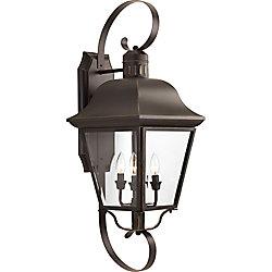 Progress Lighting Collection Andover – Lanterne murale à quatresampoule, bronze antique
