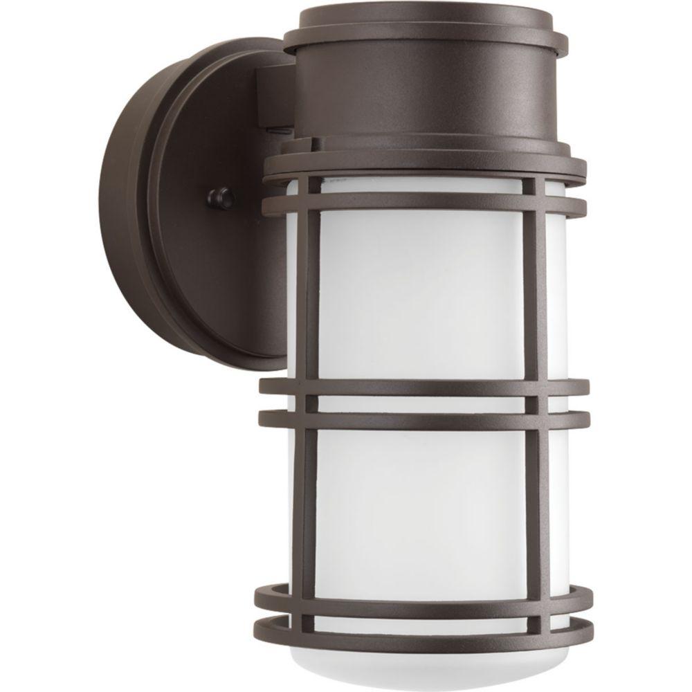 Progress Lighting Bell Collection 1-light Antique Bronze LED Wall Lantern