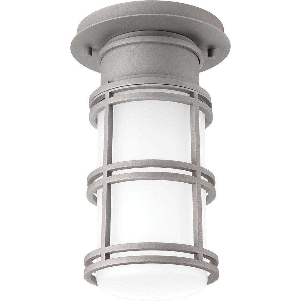 Collection Bell  Plafonnier à ampoule à DEL unique, graphite texturé