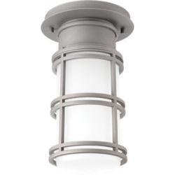 Progress Lighting Bell Collection 1-light Textured Graphite LED Flushmount