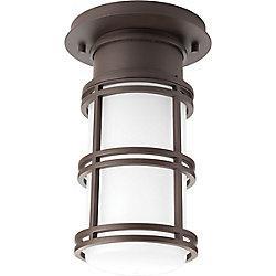 Progress Lighting Bell Collection 1-light Antique Bronze LED Flushmount