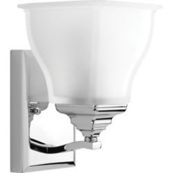 Progress Lighting Callison Collection 1-light Polished Chrome Vanity