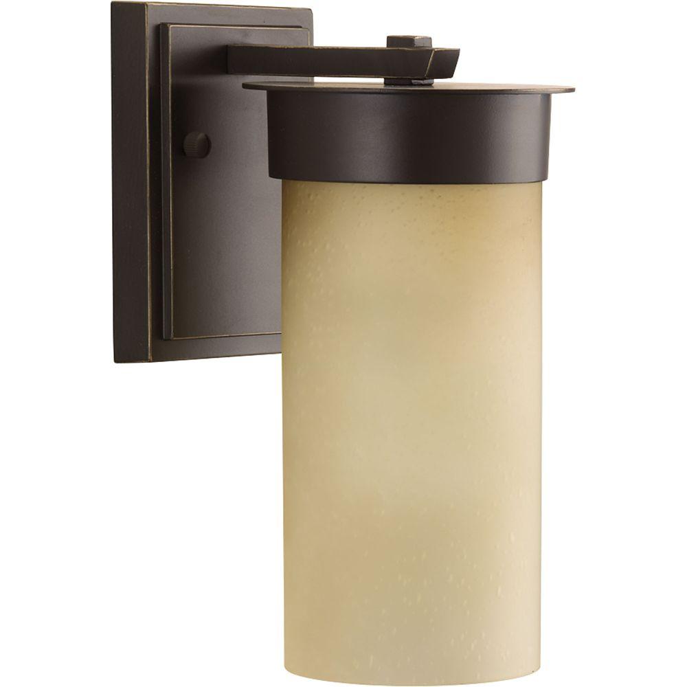 Progress Lighting Hawthorne Collection 1-light Antique Bronze Wall Lantern
