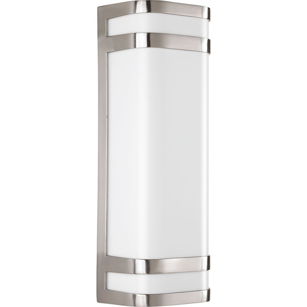 Valera Collection 2-light Brushed Nickel LED Wall Sconce