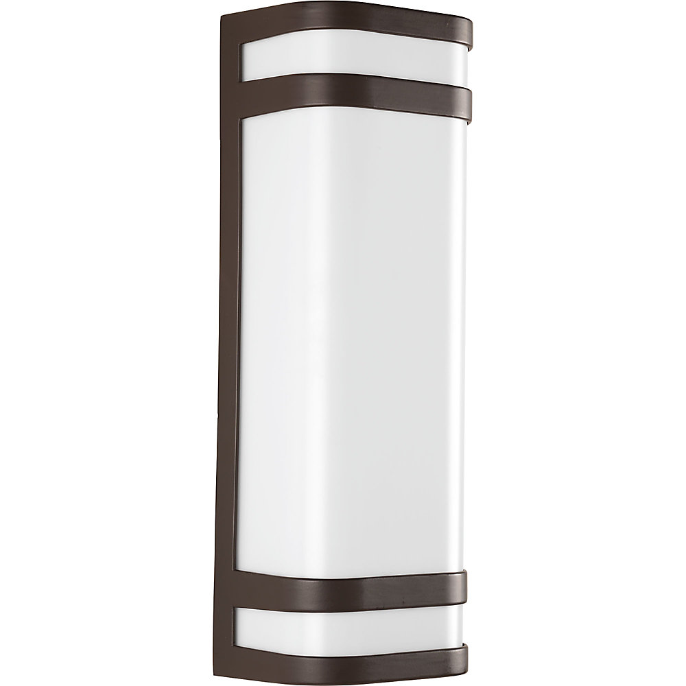Valera Collection 2-light Architectural Bronze LED Wall Sconce