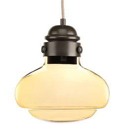 Progress Lighting Collection Beaker – Mini-luminaire suspendu à ampoule DEL unique, bronze antique