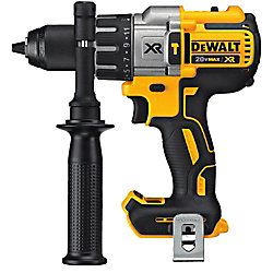 DEWALT 20V MAX XR Lithium-Ion Cordless 1/2-inch Premium Brushless Hammer Drill (Tool-Only)