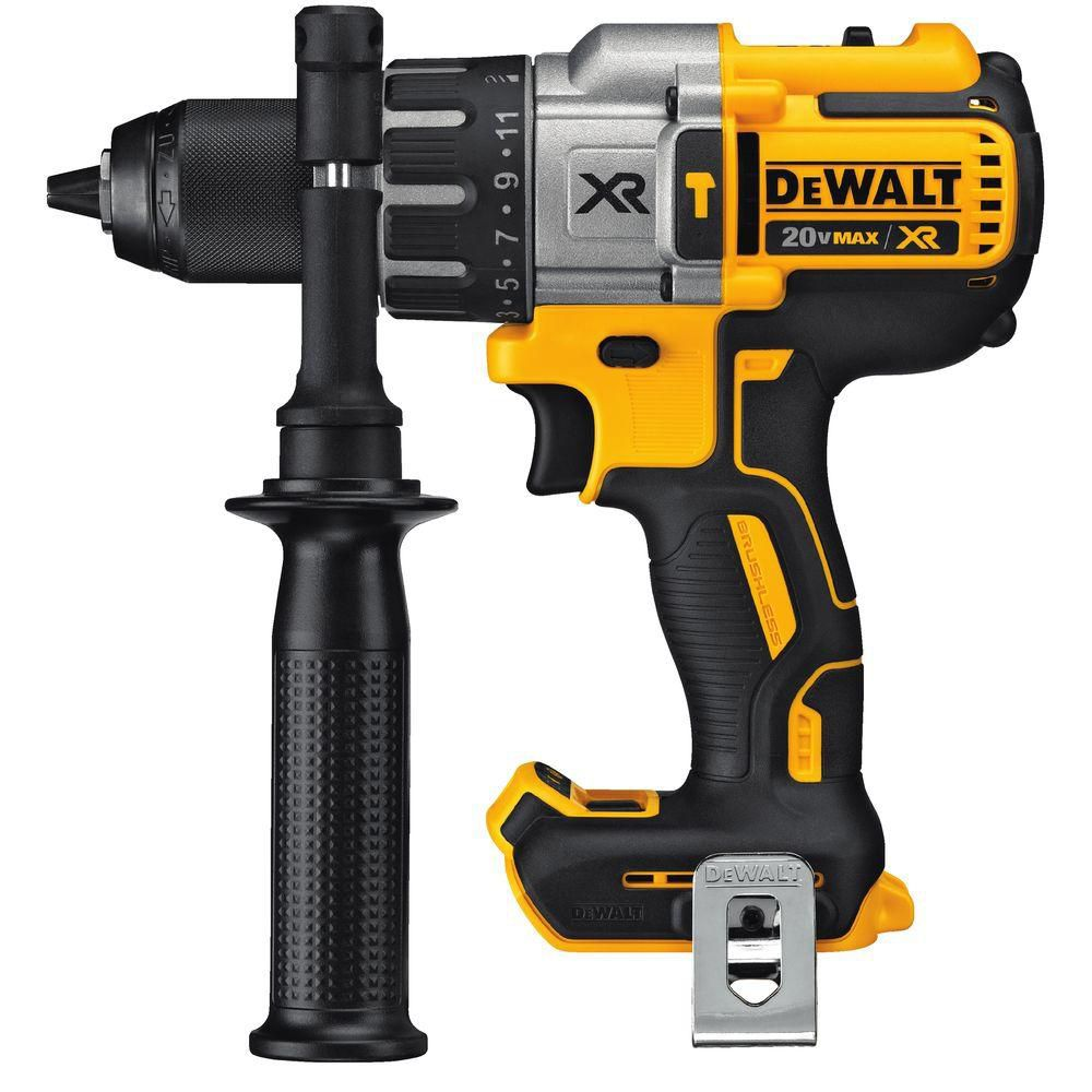 DEWALT 20V MAX XR Lithium-Ion Cordless Premium Brushless Hammer Drill (Tool Only)
