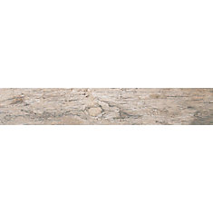 Redwood Natural 6-inch x 36-inch Glazed Porcelain Floor and Wall Tile (12 sq. ft. / case)