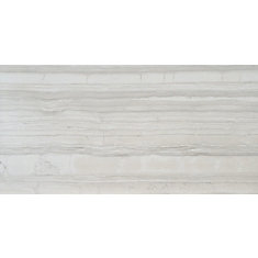 Sophie White 12-inch x 24-inch Glazed Porcelain Floor and Wall Tile (12 sq. ft. / case)