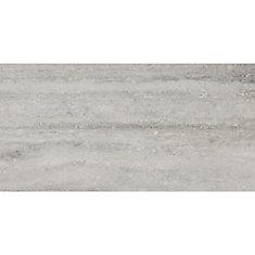 Veneto Grey 12-inch x 24-inch Glazed Porcelain Floor and Wall Tile (12 sq. ft. / case)