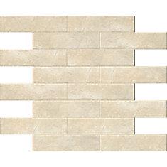 Classique Beige Crema 4-inch x 16-inch Glazed Porcelain Wall Tile (11.11 sq. ft. / case)